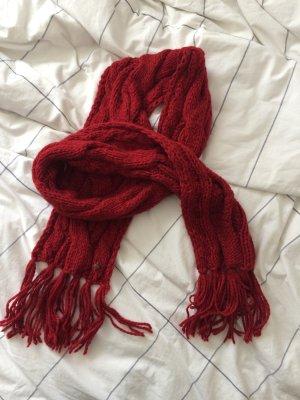 Roter Seeberger Wollschal