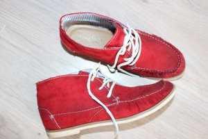 Sailing Shoes brick red-red imitation leather