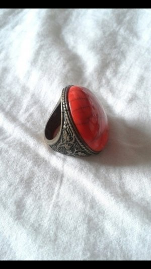 Roter Statement Ring NEU
