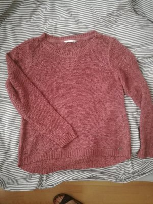 roter Strickpulli ONLY.