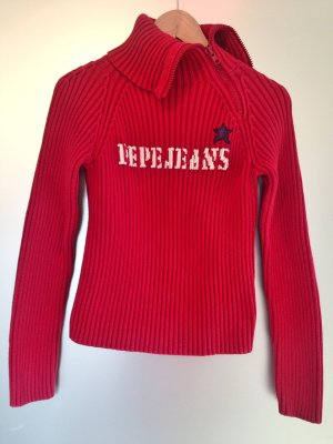 Roter Strickpullover von Pepe Jeans