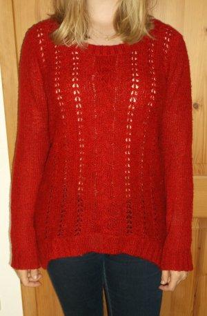 Roter Strickpullover von Vero Moda