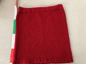 Only Knitted Skirt dark red