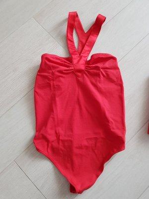 Roter Stringbody von Valentino für Wolford in Größe M, NEU