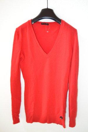 Roter Sweater von Sisley Gr. XS