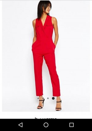 Roter toller jumpsuit noch 2 Tage
