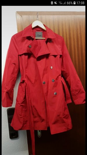 s.Oliver Trench rosso
