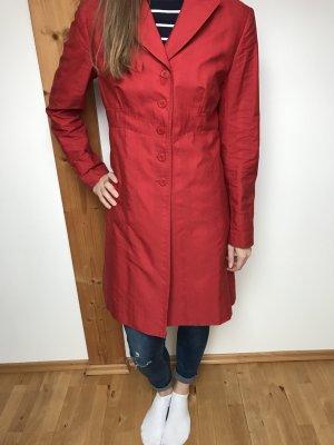 Roter Trenchcoat Größe 40