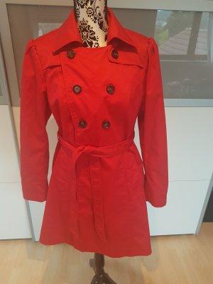 Roter Trenchcoat..sehr süss und sexy....Gr. 40...wie neu....
