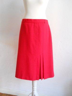 Vintage High Waist Skirt red