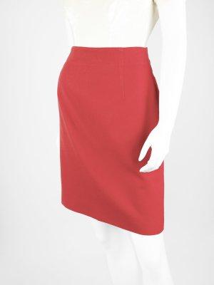 Roter Vintage Rock aus reiner Schurwolle 38