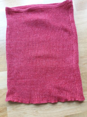 Only Knitted Skirt multicolored wool