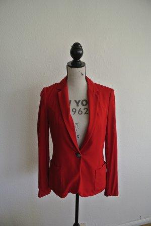 Roter Zara Blazer in Gr. S