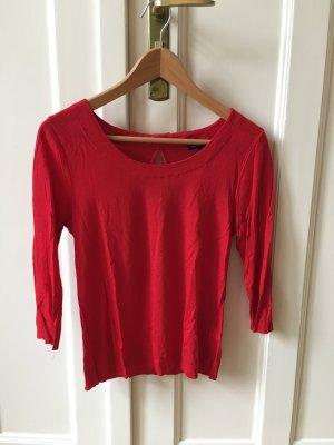 Rotes 3/4 Shirt