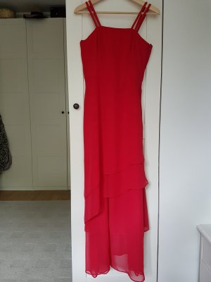 Apart Evening Dress red-brick red