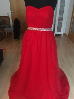 Rotes Abendkleid / Ballkleid ungetragen
