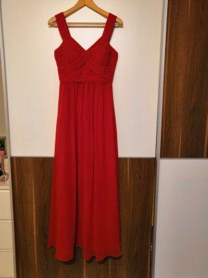 Rotes Abendkleid Chiffon