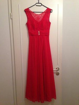 Rotes Abendkleid Paris Collection