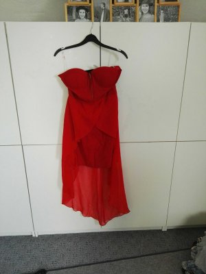 rotes Abendkleid S Schulterfrei