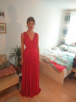 Mango Vestido de baile rojo