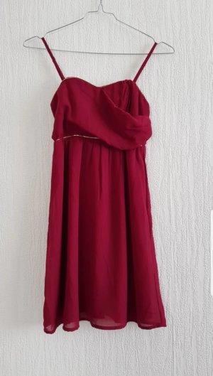 Rotes Abendkleid XS Pimkie