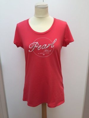 Rotes Armani Jeans T-Shirt
