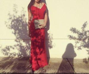 Ball Dress red