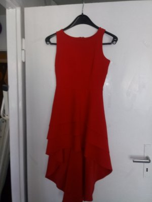 Fashion red synthetic fibre