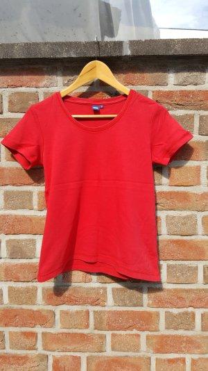 Rotes Basic T- Shirt