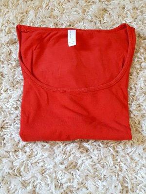 rotes Basic Tshirt von Vero Moda
