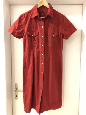 Rotes Baumwollkleid von Aigner in 36