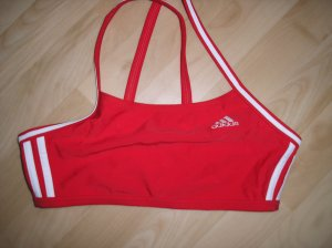 Rotes Bikini Oberteil Gr. 42 neu Adidas