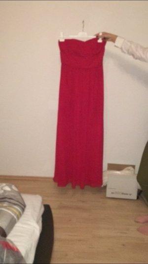 Rotes Bodenlanges Abendkleid