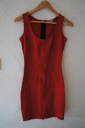 Rotes Bodycon Kleid Bershka Größe S