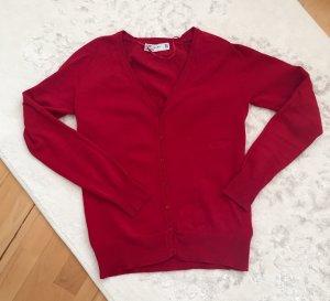 Rotes Cardigan von Zara