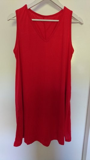 Rotes casual Kleid