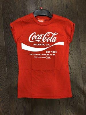 rotes Coca-Cola T-shirt