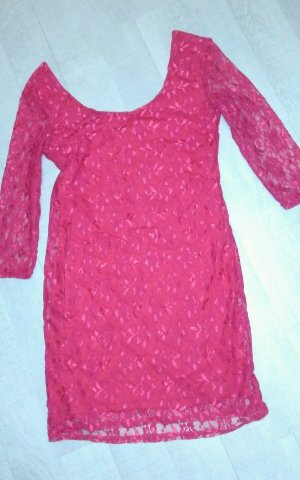 rotes cocktailkleid Gr. 38