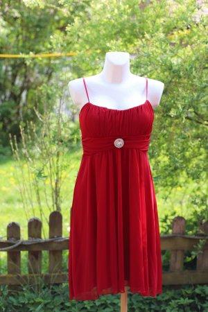 Empire Dress red