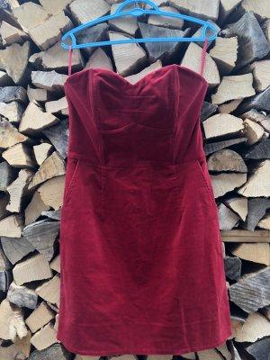H&M Robe épaules nues multicolore