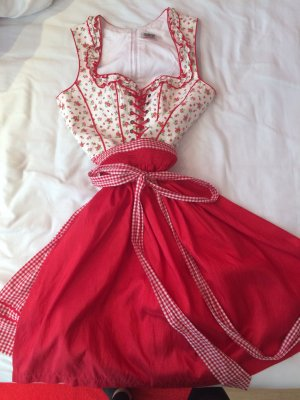 Rotes Country Line Dirndl