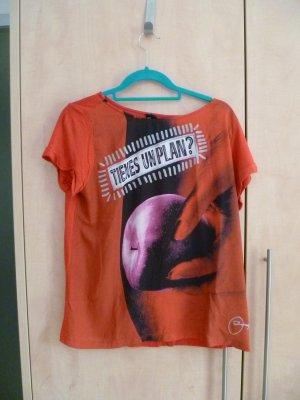 rotes Desigual T-Shirt