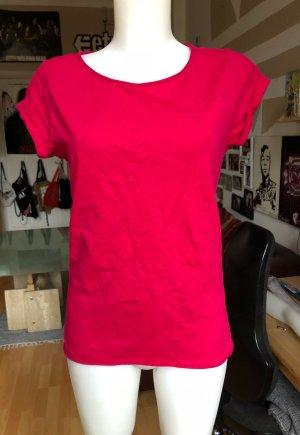 Rotes Esprit Basic Shirt M