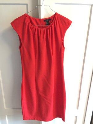 Rotes Etuitkleid H&M