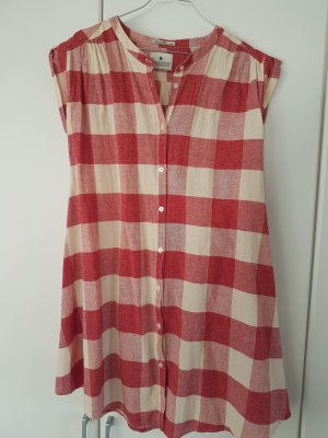 rotes Gingham Kleid