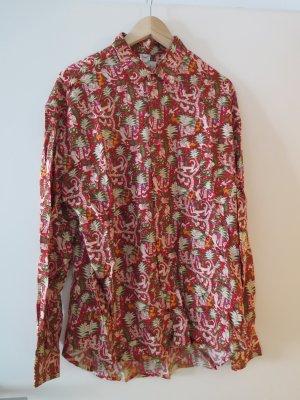 Rotes Hemd im Vintage Stil (toller Print)