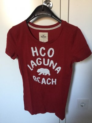 Rotes Hollister T-Shirt