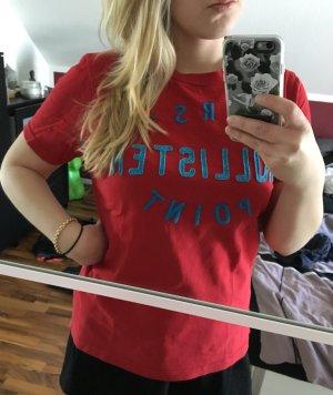 Rotes Hollister T-Shirt ! Super für Daheim