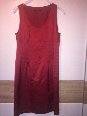 rotes Hugo Boss Kleid aus Seide Damen