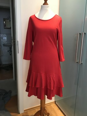 Rotes Jersey Kleid